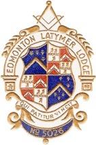 Edmonton Latymer Lodge Crest New